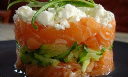 Recette tartare de saumon et de coquilles saint jacques pour une entrée originale