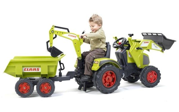 Tracteur à pédale : vous voulez  offrir à votre enfant un jouet qui l'aidera à se développer ?