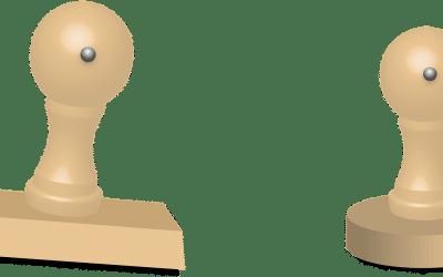 tampon bois personnalisable
