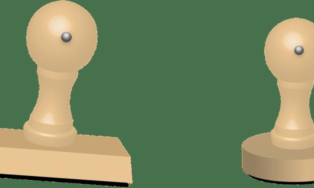 Quels sont les diamètres des tampons bois personnalisables ronds ?